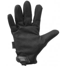 Mechanix Original Stealth Covert Gloves w/ TPR Strap (LARGE) - BLACK