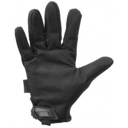 Mechanix Original Stealth Covert Gloves w/ TPR Strap (X-LARGE) - BLACK