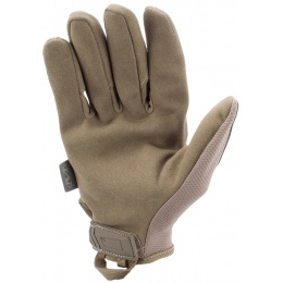 Mechanix Original Stealth Covert Gloves w/ TPR Strap (LARGE) - COYOTE