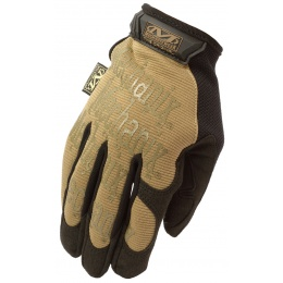 Mechanix Original Stealth Covert Gloves w/ TPR Strap (XL) - COYOTE