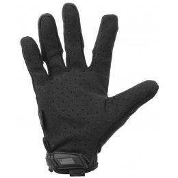 Mechanix Airsoft Large Original Gloves w/ Mesh Top Layer - BLACK