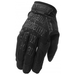 Mechanix Airsoft X-Large Original Gloves w/ Mesh Top Layer - BLACK