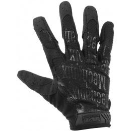 Mechanix Airsoft X-Large Original Gloves w/ Mesh Top Layer - BLACK