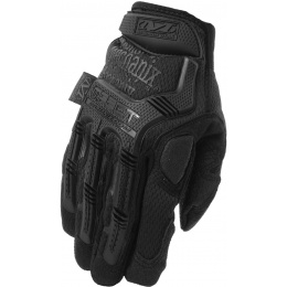 Mechanix M-Pact Covert Gloves w/ Rubberized Knuckle (MEDIUM) - BLACK