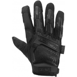 Mechanix M-Pact Covert Gloves w/ Rubberized Knuckle (LARGE) - BLACK