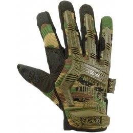 Mechanix M-Pact X-Large Gloves w/ Rubberized Protection - WOODLAND