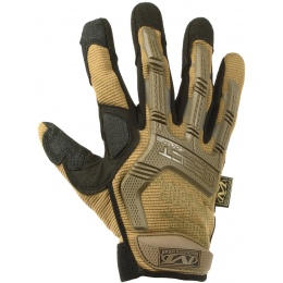 Mechanix Airsoft Medium M-Pact Gloves w/ Knuckle Protection - COYOTE