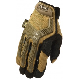 Mechanix M-Pact Covert Gloves w/ Rubberized Knuckle (LARGE) - COYOTE