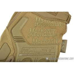 Mechanix Airsoft X-Large M-Pact Gloves w/ Knuckle Protection - COYOTE