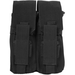 Condor Outdoor Tactical MOLLE Double AK Mag Kangaroo Pouch - BLACK