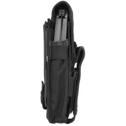Condor Outdoor Tactical MOLLE Triple AK Mag Kangaroo Pouch - BLACK