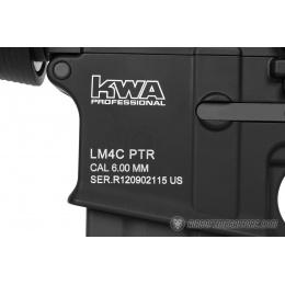 KWA Full Metal LM4C Airsoft M4 CQB Gas Blowback Training Rifle