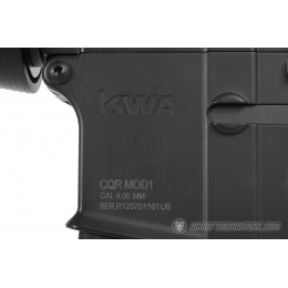 KWA M4 CQR MOD 1 Airsoft 2GX AEG Rifle w/ Metal Upper Receiver