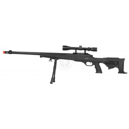 WellFire MB11D Full Metal Bolt Action Sniper Rifle w/  Scope and Bipod