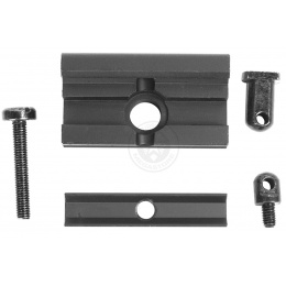 DBoys Full Metal 20mm RIS Bipod Adapter - For Standard RIS