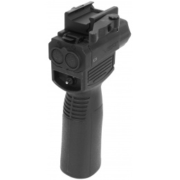 VISM Flashlight and Laser Combo Vertical Grip w/ QD Mount - VAQVGFLR