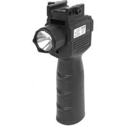 VISM Flashlight and Laser Combo Vertical Grip w/ QD Mount - VAQVGFLR