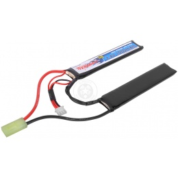 Tenergy 7.4V 1000mAh LiPo Airsoft Crane Stock Butterfly Battery