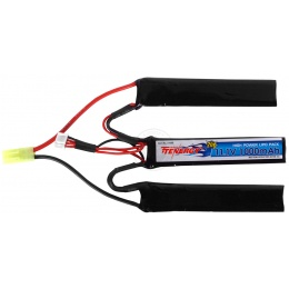 Tenergy 11.1V 1000mAh Lithium Polymer LiPo Airsoft Crane Stock Battery (No. 31600)