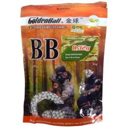 0.32g Biodegradable GoldenBall BioTac Seamless Airsoft BBs 3100rd Bag
