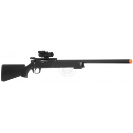 455 FPS DE Airsoft Metal M50P Master Sniper Rifle w/ Red Dot Scope