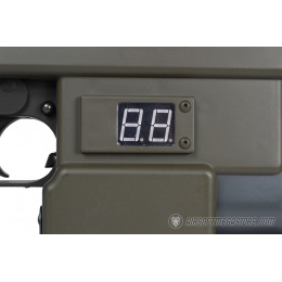 Snow Wolf M41A Pulse Airsoft AEG Rifle w/ LCD Bullet Counter Display