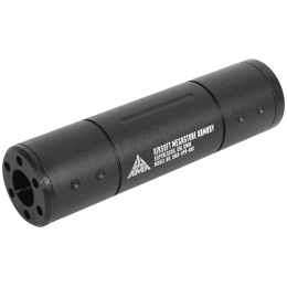Airsoft Megastore Armory Pistol Aluminum Mock Suppressor - 110 mm