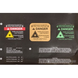 Airsoft Megastore Armory XE-15 PEQ Battery Box w/ Weaver Mount - BLACK