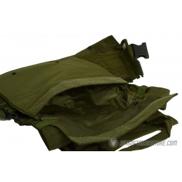 G-Force Warrior MOLLE Chest Rig - w/ 6 Mag Pouches - OD GREEN