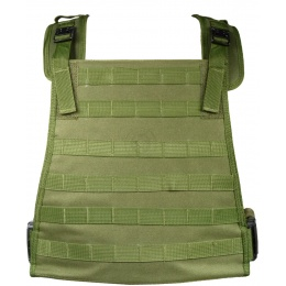 G-Force Outdoor Compact Plate Carrier w/ MOLLE Webbing - OD GREEN