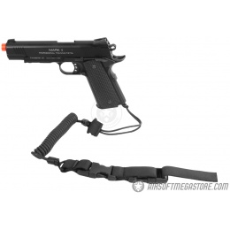G-Force Airsoft Pistol Retention Lanyard w/ QD Buckles - MEDIUM