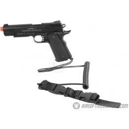 G-Force Airsoft Pistol Retention Lanyard w/ QD Buckles - LARGE
