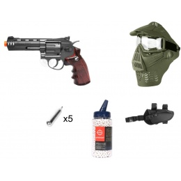 Field Ready Kit WG Airsoft M705 Compact Revolver w/ Accessories