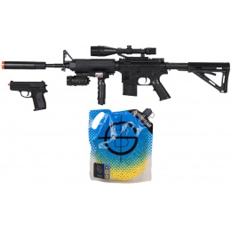Value Springer Airsoft Package: Modern Primary/Secondary Kit