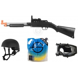 Breach and Clear Airsoft Package: Police Shotgun Kit