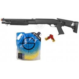 Value Springer Airsoft Package: M3 CQB Shotgun Kit