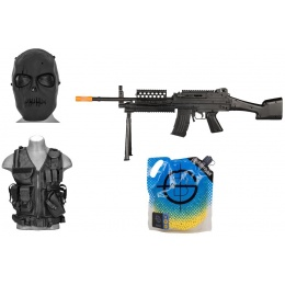Value Airsoft Package: Full Size LMG Spring w/ Essentials