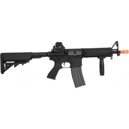 G&G Top Tech Full Metal TR15 CQB Raider EBB Airsoft AEG Rifle - BLACK