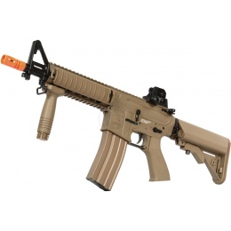 G&G Top Tech TR15 Full Metal CQB Raider GT EBB Airsoft AEG Rifle - TAN