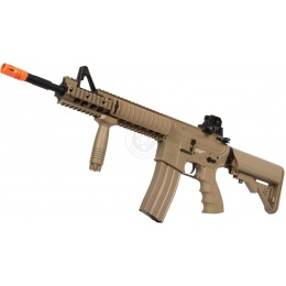 G&G Top Tech Full Metal TR15 Raider XL GT EBB Airsoft AEG Rifle - TAN