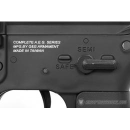 G&G GR4 100Y CQB Electric Blowback M4 Airsoft AEG Rifle - BLACK