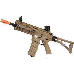 G&G GR4 100Y CQB Electric Blowback M4 AEG Rifle w/ Folding Stock - TAN