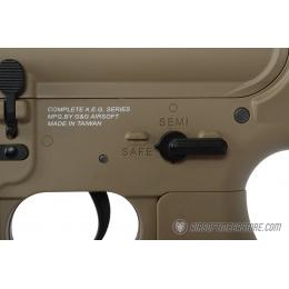 G&G GR4 100Y CQB Electric Blowback M4 AEG Rifle w/ Folding Stock - TAN