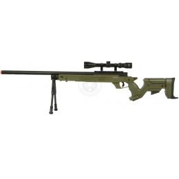 Performance Sniper Airsoft Package: 510 FPS SR22 Jungle Sniper Kit