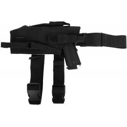 London Bridge Trading Large Pistol Drop Leg Holster - LEFT HANDED