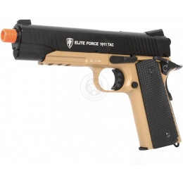 Elite Force 1911 Tac CO2 Blowback Airsoft Pistol w/ 20mm Rail