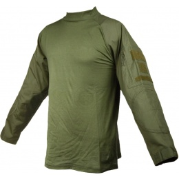 Rothco Military Combat Shirt w/ Reinforced Elbows - OD GREEN