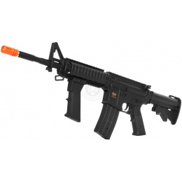 JG Works Full Metal Gearbox M4 RIS CQB AEG Rifle w/ Metal Outer Barrel