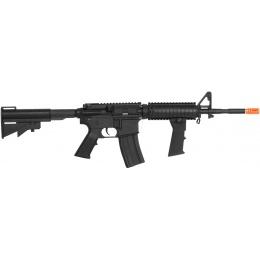JG Works Full Metal Gearbox M4 RIS CQB AEG Rifle w/ Metal Outer Barrel