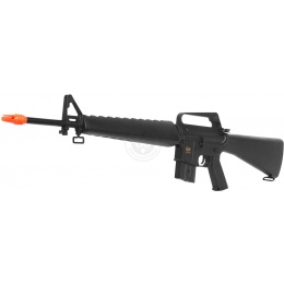 JG Works Airsoft Gun M16A1 Vietnam AEG Rifle w/ Reinforced Barrel